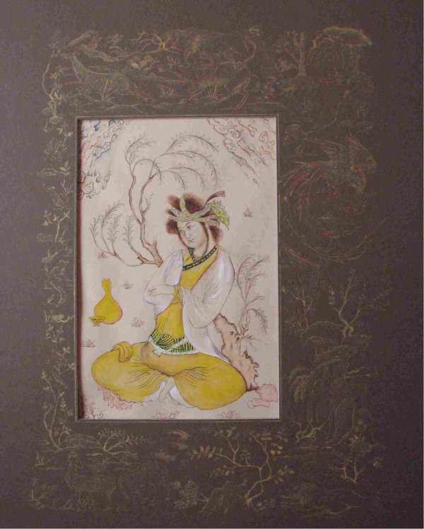 Persian Miniature Painting in Chinese Style
