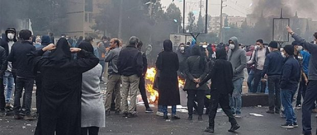 What changed in Iran regarding the November protests?