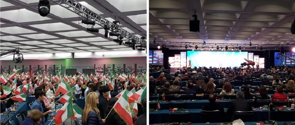 Iranian convention in US