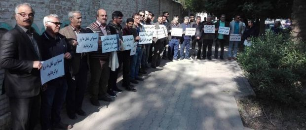 Iran: Photographers protest in Ahvaz