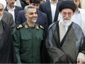 Soleimani with Khamenei